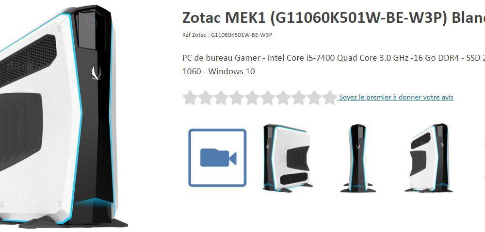 MiniPC Gaming Zotac Mek1