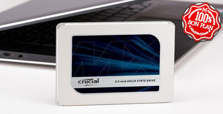SSD 2.5 pouces Crucial MX500 500 Go SATA III