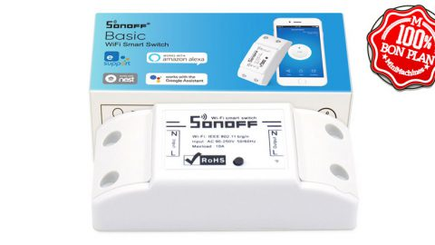 Interrupteur SonOff Basic Wifi