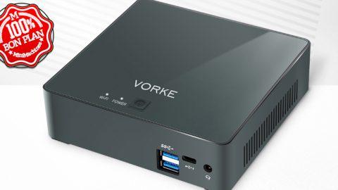 MiniPC Vorke V2 Pro i5-8250U - 8/128Go