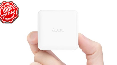 Télécommande domotique Aqara cube