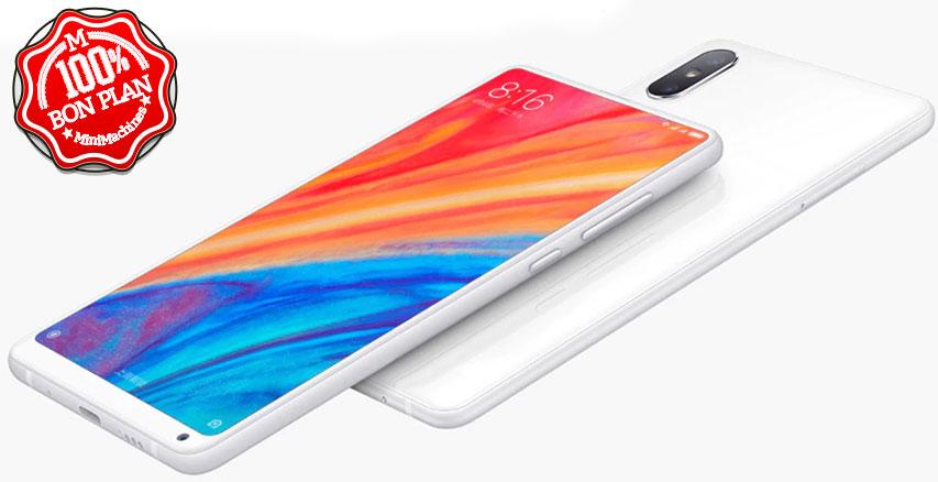 Smartphone Xiaomi Mi Mix 2S 6/64Go Blanc