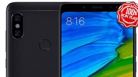 Smartphone Xiaomi Redmi Note 5 4/64Go Noir
