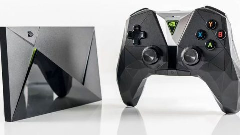 Nvidia Shield TV + telco et manette