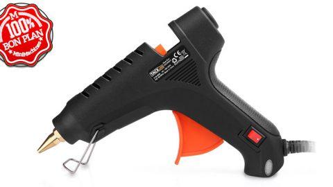 Pistolet à colle Tacklife GGO60A + 30 bâtons de colle