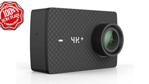 Camera sportive Yi 4K+ UltraHD 60 fps + boitier étanche