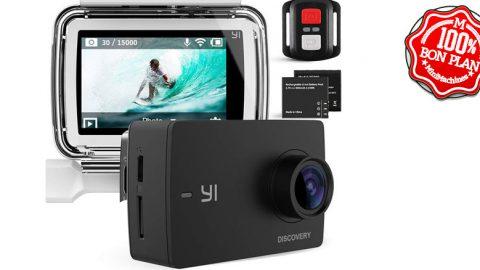 Kit Camera sportive Yi Discovery 4K + boitier étanche + accessoires