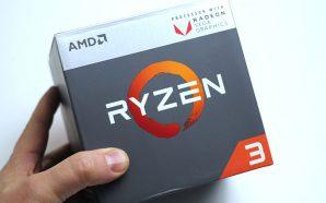 AMD Ryzen 3 2200G : L'entrée de gamme gagne un…
