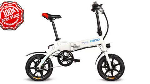 Vélo électrique pliant Fiido D1 Blanc