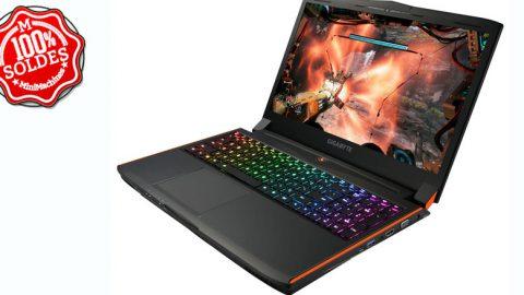 Gigabyte P56XT - 15.6'' - Core i7-7700HQ - 16Go - 512Go - 1To - GeForce GTX 1070