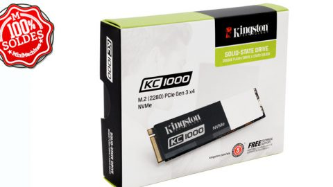 SSD 240 Go Kingston KC1000 M.2 2280 PCIe NVMe