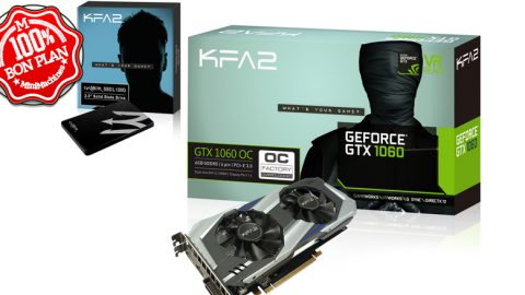 Carte Graphique KFA2 Nvidia GeForce GTX 1060 OC 3Go