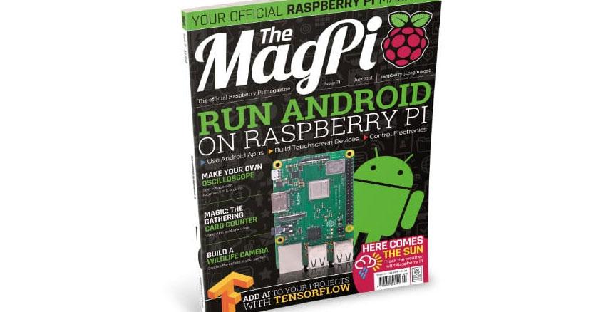 MagPi 71 s'intéresse à l'usage d'Android sur la Raspberry Pi