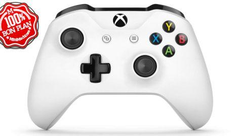 Manette de jeu Microsoft XBox One sans fil + Gear of War 4