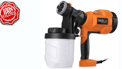 Pistolet à Peinture électrique Tacklife SGP15AC 400W 800ml