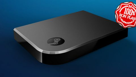 Boitier streaming de jeu Steam Link