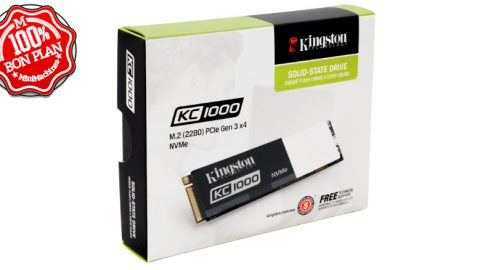 SSD Kingston KC1000 M.2 PCIe NVMe - 240 Go