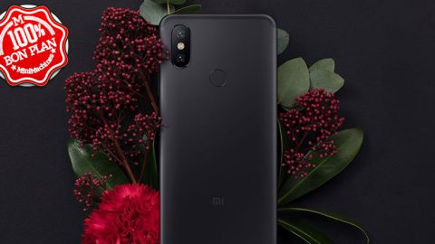 Smartphone Xiaomi Mi A2 4Go / 64Go Noir / Or