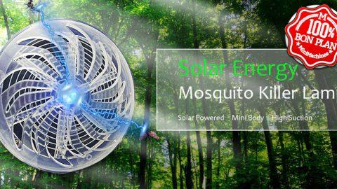 Lampe anti moustique solaire GoComma