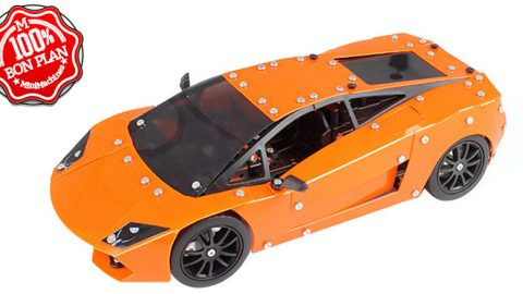 Jouet voiture RC a monter Orange
