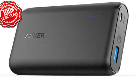 Batterie Anker PowerCore 10000 mAh Quick Charge 3.0