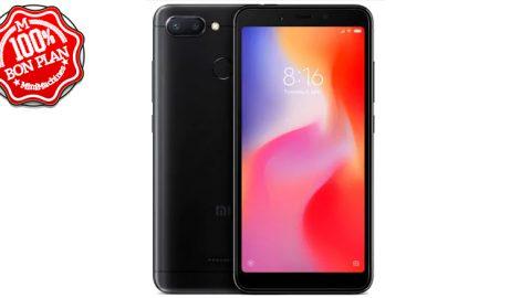 Smartphone Xiaomi Redmi 6 - 3/64Go Noir