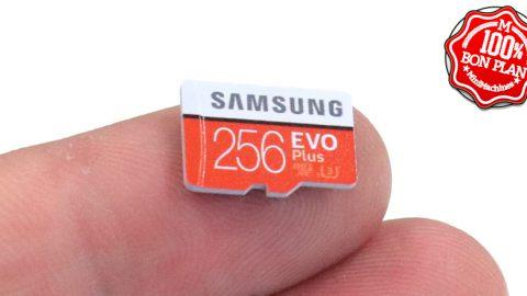 Carte MicroSDXC 256 Go Samsung EVO Plus