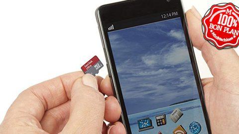Carte MicroSDXC SanDisk A1 Ultra 256 Go