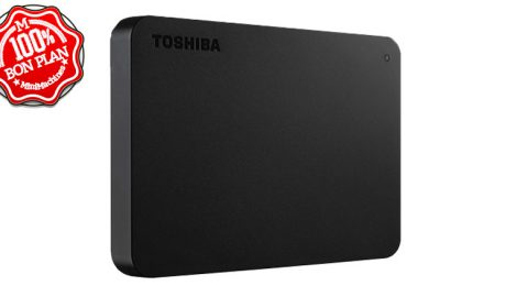 "Disque dur Toshiba 2To 2.5"" externe USB 3.0"