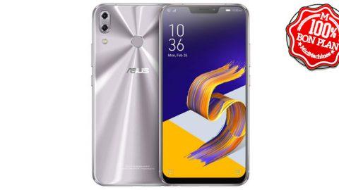 Smartphone Asus Zenfone 5Z - 6/64 Go - Argent