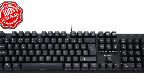 Clavier mécanique Aukey KM-G8