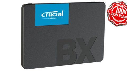 "SSD Crucial BX500 480 Go SATA III 2.5"""