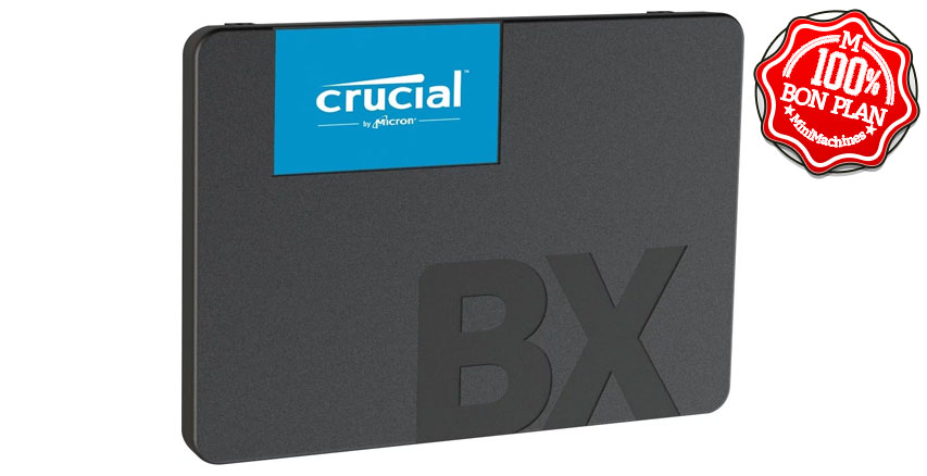 SSD Crucial BX500 1 To SATA III 2.5
