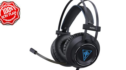 Casque Gaming Aukey GH-S6 pour PC/PS4/XBox