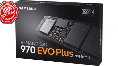 SSD Samsung 970 EVO Plus M.2 NVMe 500 Go