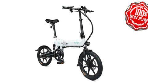 Vélo électrique pliant Fiido D2 Blanc ou Noir