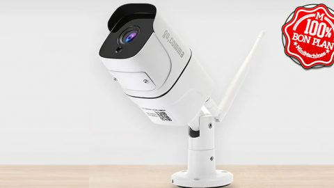 Camera IP Wifi Gocomma blanche IP65