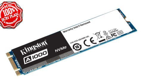 SSD NVMe Kingston A1000 480 Go