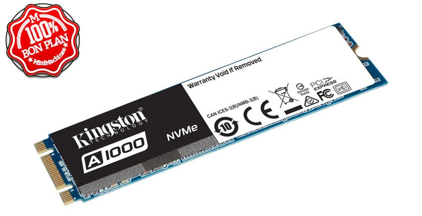 SSD NVMe Kingston A1000 480 Go