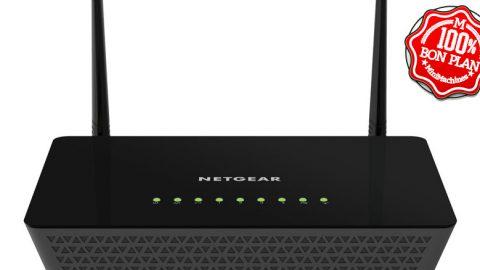 Routeur Wi-FI AC 1200 Netgear R6220-100PES