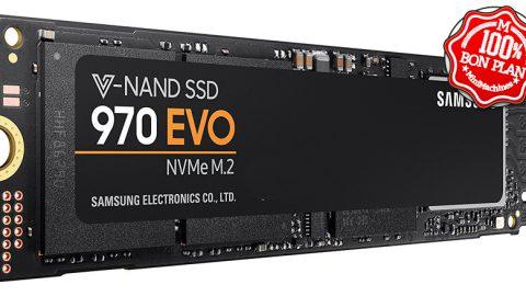 SSD Samsung 970 EVO M.2 NVMe 500 Go