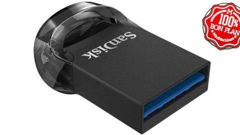 Clé USB 3.1 Sandisk Ultra Fit 256 Go