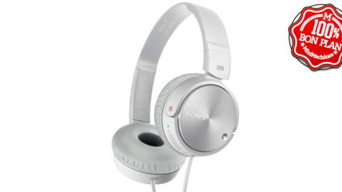 Casque audio Sony MDR-ZX110NA filaire