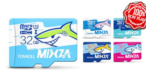 Carte MicroSDHC 32Go MIXZA TOHAOLL
