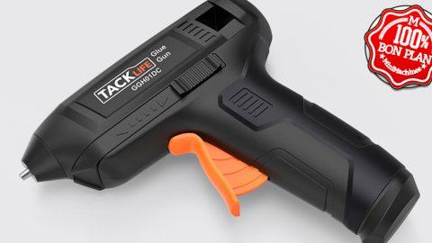 Pistolet à colle Tacklife USB + 50 bâtons de colle