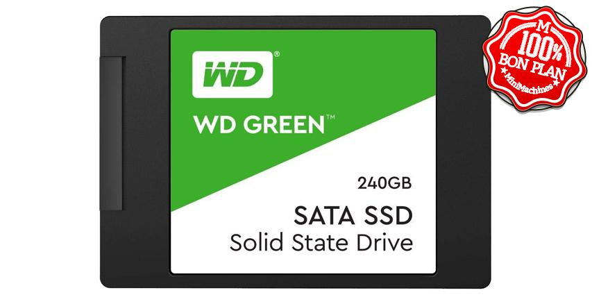 SSD Western Digital Green 120 Go SATA 3.0