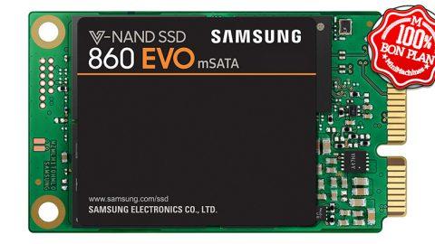 SSD mSATA Samsung SSD 860 EVO 500 Go