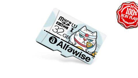 Carte MicroSDHC 32 Go Alfawise