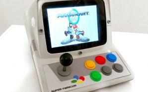 Le Bartop Minitel Super Famicom de Prog-Amateur