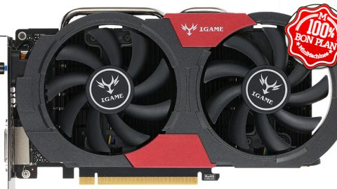 Carte graphique Colorful  GeForce GTX 1050Ti 4 Go